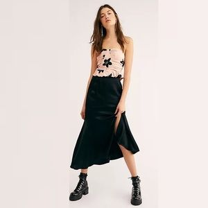 Free People On the Town Skirt Set NWOT